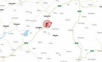 Sivas'ta deprem oldu | Gemerek 4.4 ile sallandı