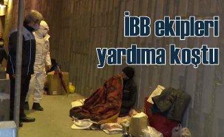 Sokakta kalan vatandaşlara İBB elini uzattı