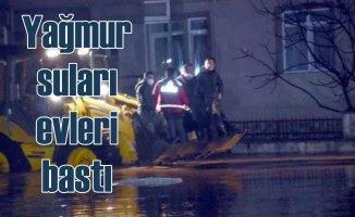 Trakya Bölgesi'nde yağmur suları evleri bastı