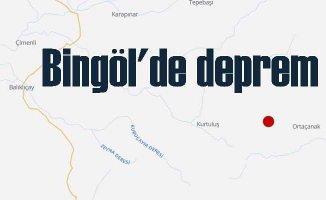Bingöl'de deprem | Bingöl Ortaçanak 4.2 ile sallandı