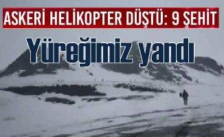 Bitlis'ten yüreklerimizi yakan haber | Cougar faciası 9 şehidimiz var