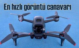 DJI, yarış dronu hızında uçan görüntü canavarını tanıttı