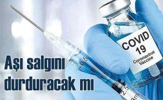 Koronavirüs aşısı bulaştırıcılığınönüne geçebilecek mi?