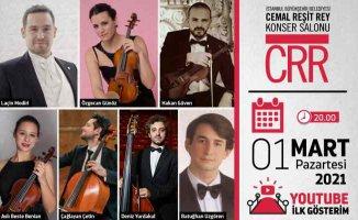 MODIRI Ensemble konseri CRR'de