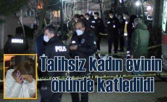 Nebahat Kurt cinayeti | Evinin önünde silahlı saldırı