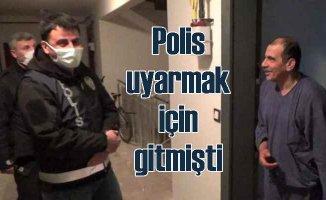 Polis uyarmak için gitti | Güldüren davet