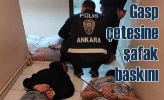 Yarasa Kız operasyonu | Gasp çetesinden 115 gözaltı var