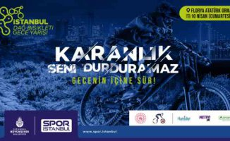 Bisiklet tutkunları İBB gece yarışında buluşuyor