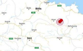 Bitlis Hizan'da deprem oldu | Hizan'da deprem 4.1