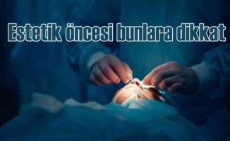 Burun estetiği ameliyatları hakkında bilinmesi gerekenler