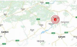 Çorum'da deprem | Çorum Dodurga 4.4 ile sallandı