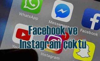 Facebook çöktü, Instagram'a girilemiyor
