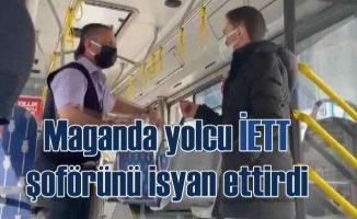 Maganda yolcu, İETT şoförünü isyan ettirdi