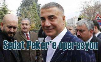 Sedat Peker'e yönelik 5 ilde operasyon