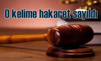 Yargıtay 'Salak' sözünü hakaret kabul etti