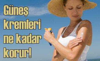 5 adımda güneş koruyucu kremleri