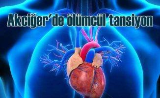 Akciğer yüksek tansiyonu hayatı tehdit eden bir hastalıktır