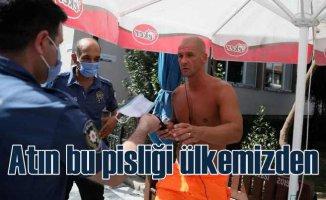 Antalya'da turistten Türk kadın polise ahlaksız teklif