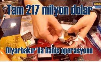 Diyarbakır'da bahis operasyonu | 217 milyon doları Bitcoin'e yatırmışlar