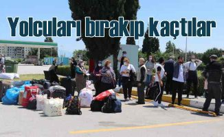 Kastamonu otobüsünde skandal   Yolcuları bırakıp kaçtılar