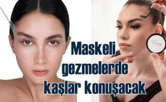 Pnkre | Maskeli yüzlerde kaş ve saça özel ürün geliştirdi