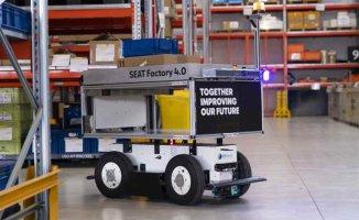 SEAT'ın Martorell fabrikasında akıllı mobil robotlar iş başında