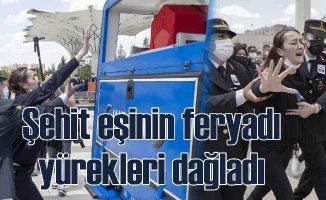 Şehit Uzman Çavuş Hüseyin Keleş'in cenazesinde göz yaşları sel oldu