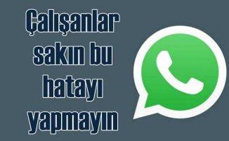 Whatsapp grubundan yöneticilere hakaret etti, işten atıldı