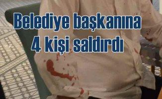 Didim Belediye Başkanı'na saldırı | 4 kişinin saldırısına uğradı