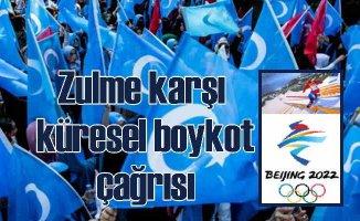 Doğu Türkistan Türkleri'nden Pekin Kış Olimpiyatları için boykot çağrısı