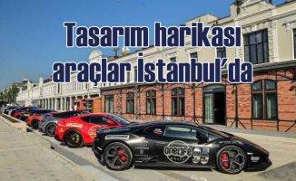 Galataport İstanbul'da tasarım harikası süper otomobiller sergisi