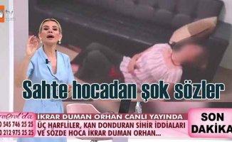 İkrar Duman Orhan hakkında şantaj iddiaları