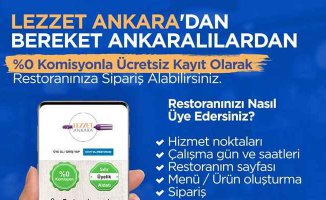 Mansur Yavaş yönetiminden esnafa Lezzet Ankara desteği