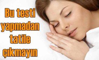 7 soruda uyku apnesi testi   Bu hastalık trafik kazalarını artırıyor!