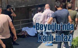 Beyoğlu'nda barıştırma cinayeti | 3 kişi öldürüldü