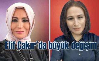 Elif Çakır türbansız fotoğrafını paylaştı