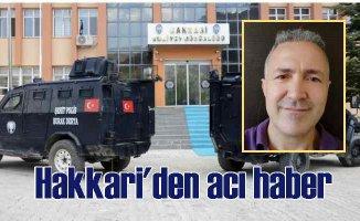 Hakkari'de polis memuru, Emniyet Müdür Yardımcısını vurdu