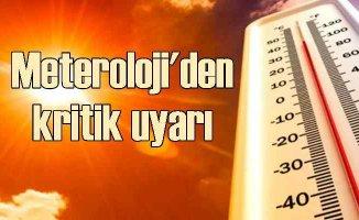 Hava sıcaklığı için krtik uyarı | 40 dereceyi geçecek