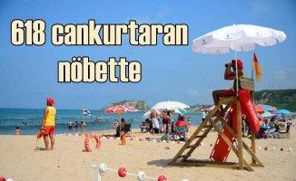 İstanbul plajlarında 618 cankurtaran hayat kurtarıyor