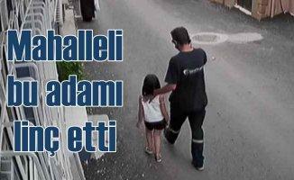 Küçük kıza taciz iddiası linçle son buldu