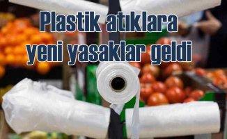 Plastik atıklara yeni yasaklar getirildi