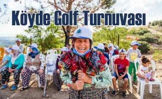 Sabancı Vakfı Düzenledi | Köyde golf turnuvası