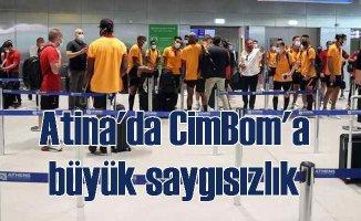 Yunanistan'da Galatasaray'a skandal uygulama | Ekip geri dönüyor