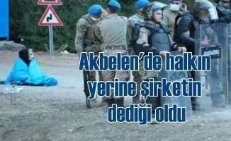 Akbelen Ormanı'nda vatanşlar sürüklenerek çıkarıldı