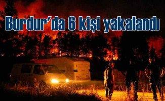 Burdur'da orman yangını 7 köy boşaltıldı