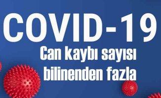 Covid-19 kaynaklı ölüm sayısı açıklananın iki katı