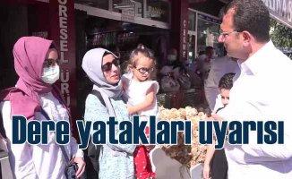 İmamoğlu | İstanbul'da yüzbinlerce kişi dere yataklarında
