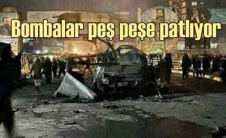 Kabil'de en uzun gece | Bombalar peş peşe patlıyor