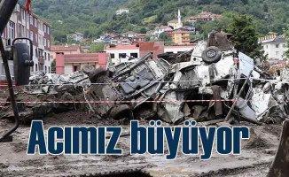 Kastamonu'da felaketin boyutları büyüyor, can kaybımız 57'ye yükseldi