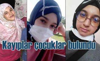 Kayıp kız çocukları Avcılar'da bulundu
